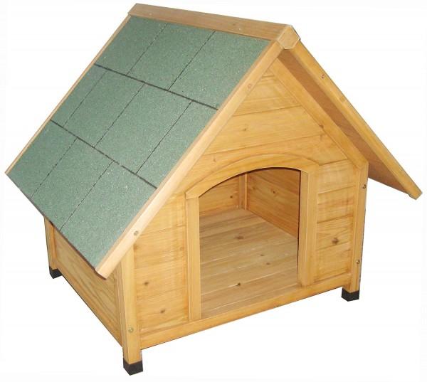 VARILANDO® Hundehütte Schlafplatz Hundeschlafplatz Hundehaus aus Holz