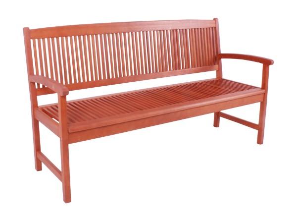 "VARILANDO Gartenbank 3-Sitzer ""Steward"" aus geöltem Eukalyptus Holzbank"