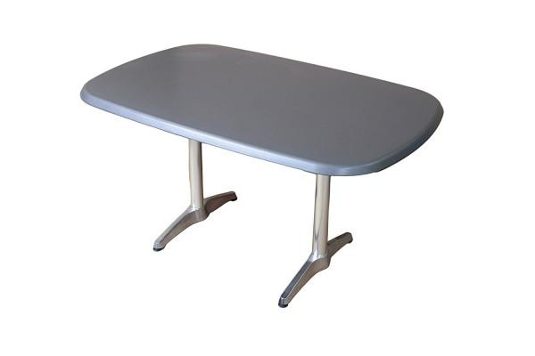 VARILANDO ovale Tischplatte von Kettler in eisengrau 140 cm Gastronomie-Tischplatte