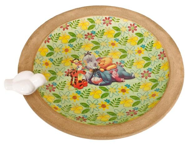 """VARILANDO Vogelbrunnen Disney """"Winnie the Pooh""""Vogeltränke Vogelbad Ø32 cm"""