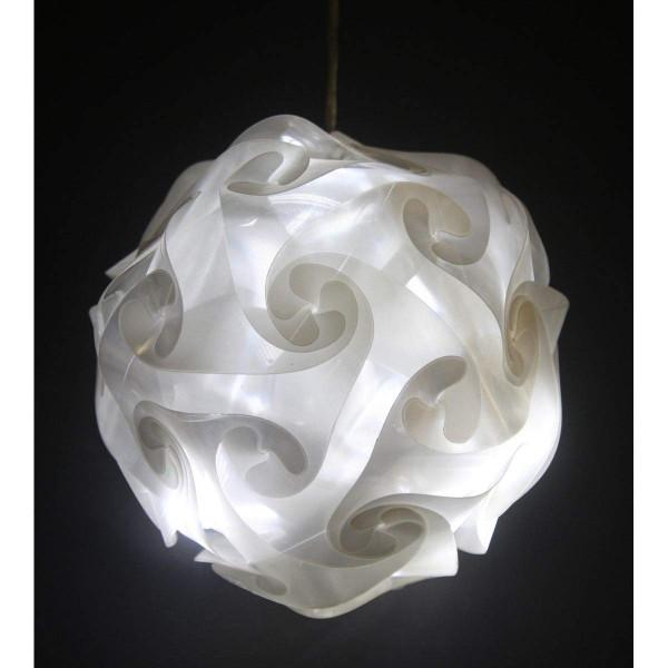 VARILANDO® LED-Kugel mit 10 kaltweißen LED Licht-Kugel Beleuchtung für Innenräume
