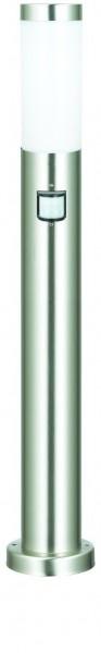 VARILANDO Wegeleuchte aus Edelstahl mit Bewegungsmelder 80 cm Gartenlampe Gartenlicht Beleuchtung